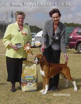 Tanyati Xhilaration - Multiple Best Puppy in Show (All Breeds)